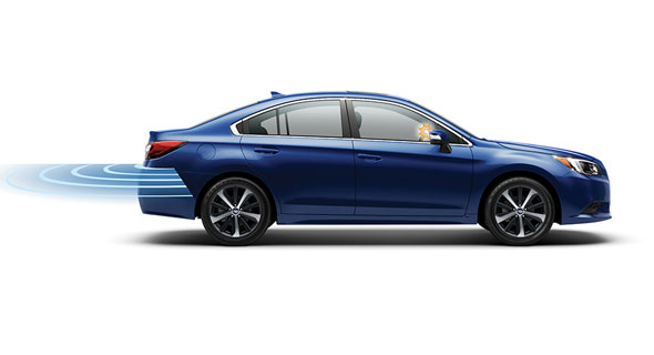 2016 Subaru Legacy Rear Cross-Traffic Alert