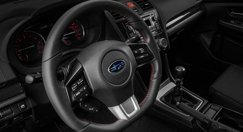 2015 Subaru WRX Steering Ratio