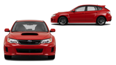 Subaru Red Vehicle Image